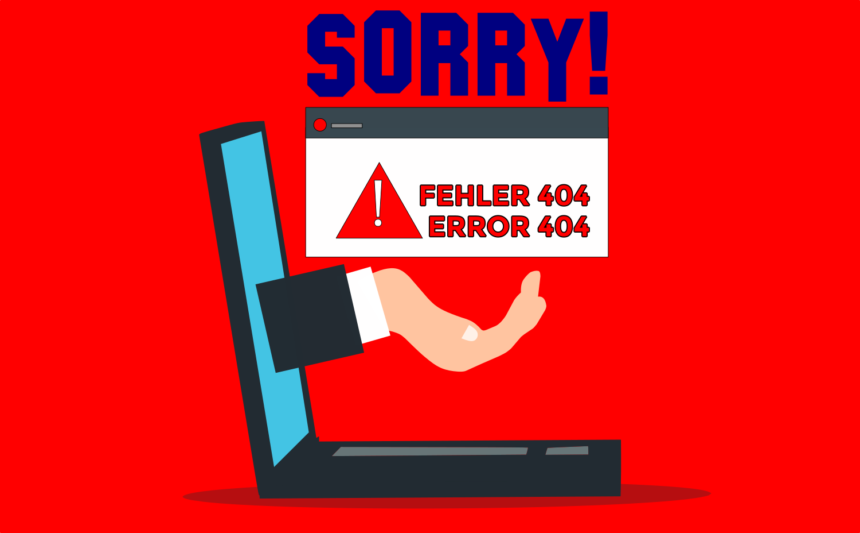 Fehlerseite 404